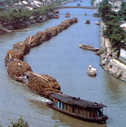 Grand Canal still functions today after 1500 years of use