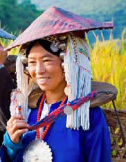 Tribal woman in Keng Tung