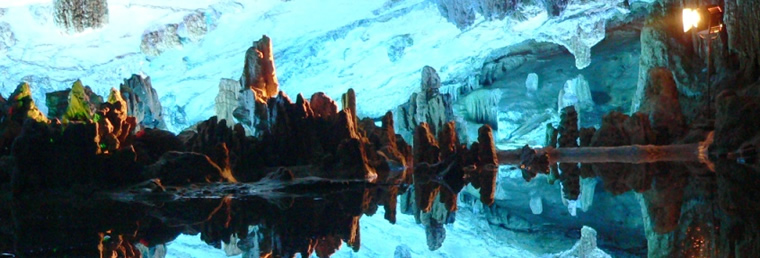 Spectacular Reed Flute Cave in Guilin